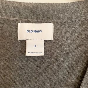Old Navy Sweaters - Gray Old Navy boyfriend cardigan size Small